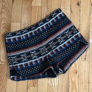 🌵Forever 21 boho south western woven shorts🌵